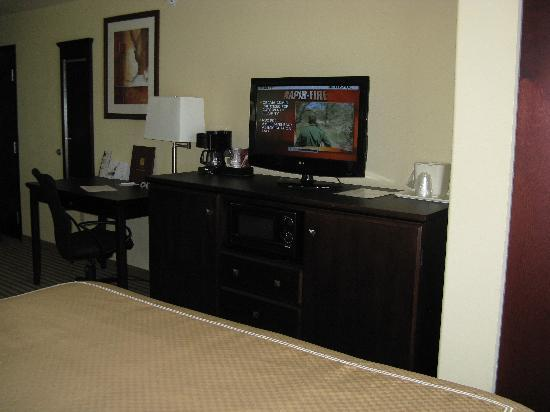 Comfort Suites North: King Room Furnishings