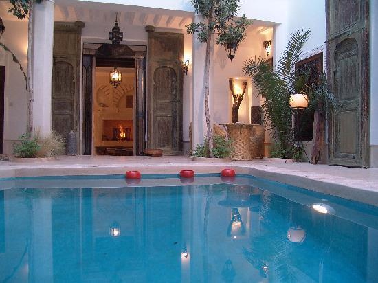 Riad Tawanza: le patio