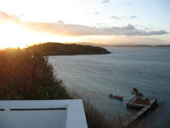 L'habitation de l'Ilet Thierry: vue depuis le solarium
