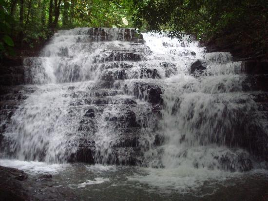 Waterfall Villas: view of the waterfalls on the property