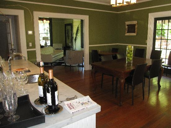The Chanric Inn: Chanric dining area