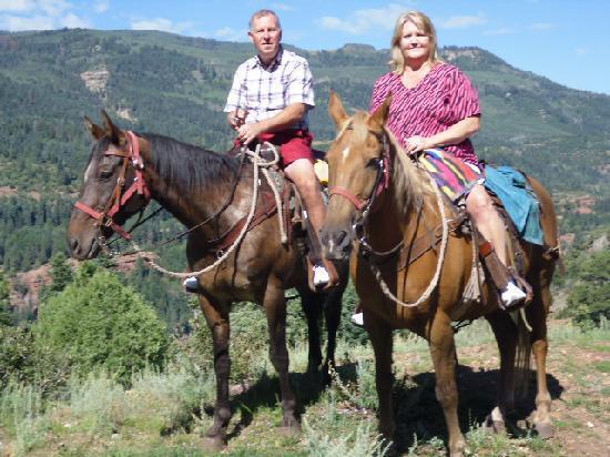 Bachelor - Syracuse Mine Tour: Our mountain horseback ride