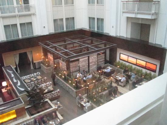 The Nines, a Luxury Collection Hotel, Portland: Atrium/lobby/Urban Farmer from 10th floor