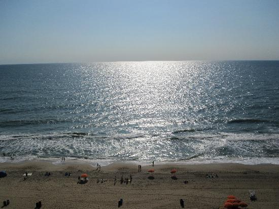 Hilton Suites Ocean City Oceanfront: View from our room