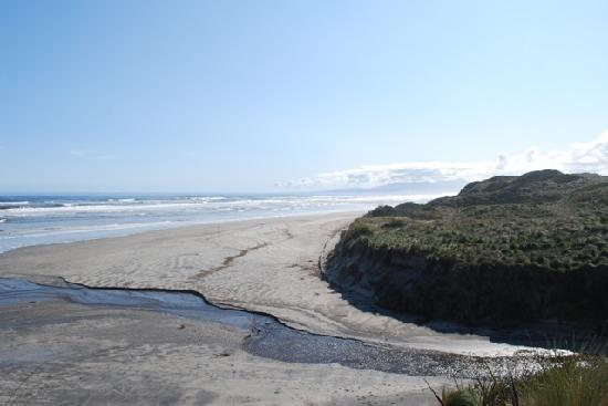 West Coast Visitor Information Centre: beach