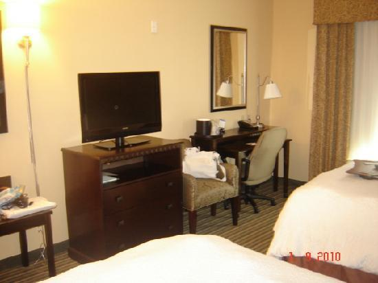 Hampton Inn & Suites Ft. Lauderdale/West-Sawgrass/Tamarac: Habitacion