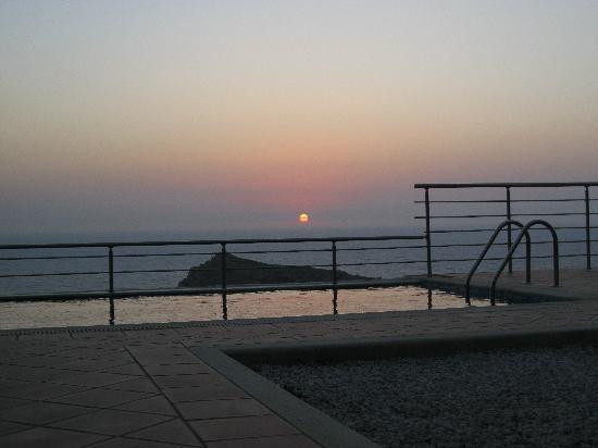 Keramoti Villas: Sunset