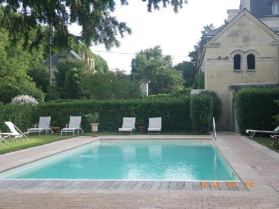 Chateau de Verrieres & Spa: Chateau de Verriers - Saumur - swimming pool