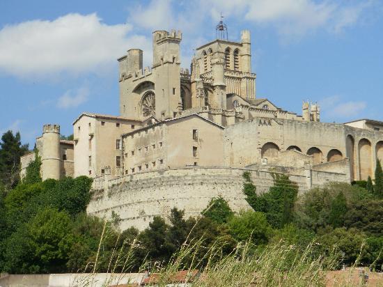 Béziers, Frankreich: la cité vue depuis l'OB