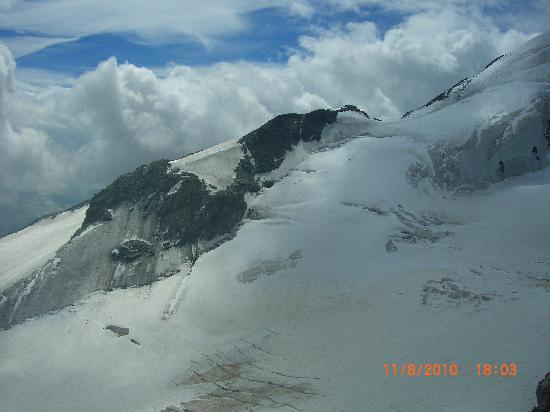 Saas-Fee, Switzerland: Up on the glacier