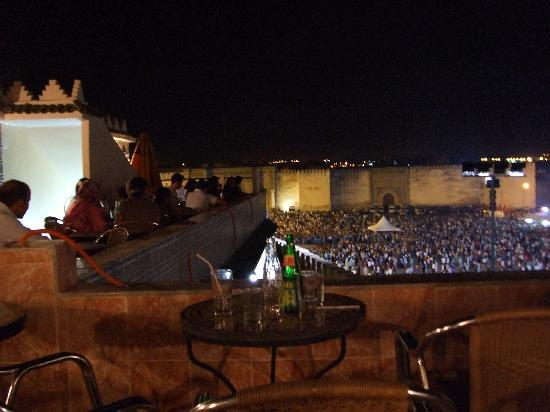 Riad Lahboul: Find a terrace cafe that offers a vantage point to marvel at Hedim square as it continues to swe