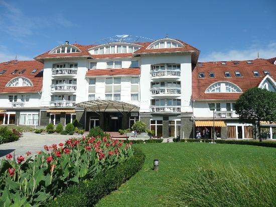 Zalakaros, Ungarn: Hotel von außen