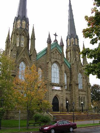 Charlottetown, Canada: Front of Church