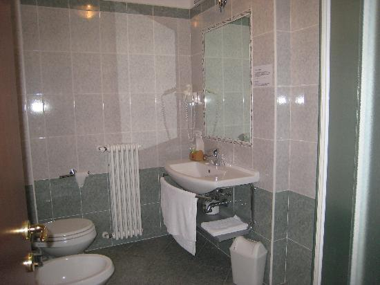 Hotel Nuova Barcaccia: Il bagno