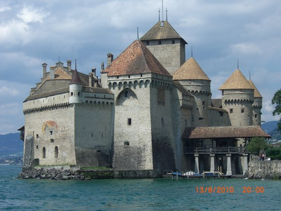 Chateau de Chillon: View from the East