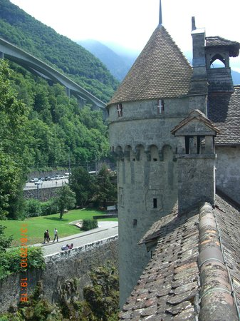 Montreux, Svizzera: The watch tower
