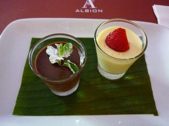 Albion - Two Chocolates Dessert