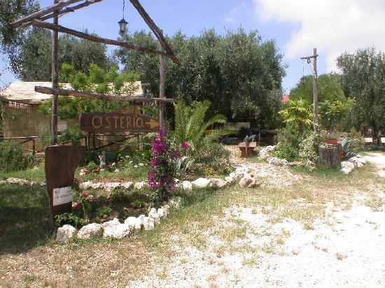 Agriturismo Osteria Pane e vino: ingresso esterno osteria pane e vino