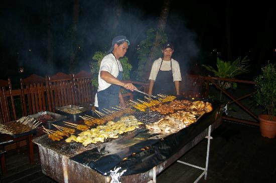 Sipadan Mabul Resort: BBQ