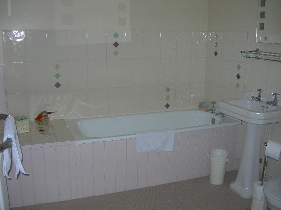 The Old School Bed and Breakfast: tub
