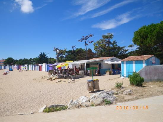 Saint-Denis beach Ile d'Oleron