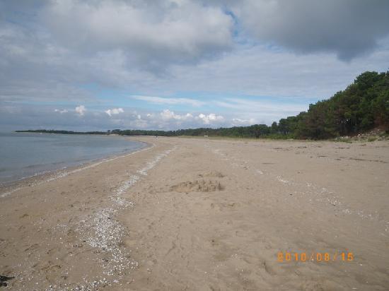 Île d'Oléron, France : Saint Trojan beach  lle d'Oleron
