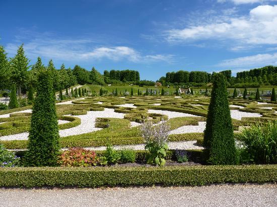 Hillerod, Δανία: Gardens (partial view)