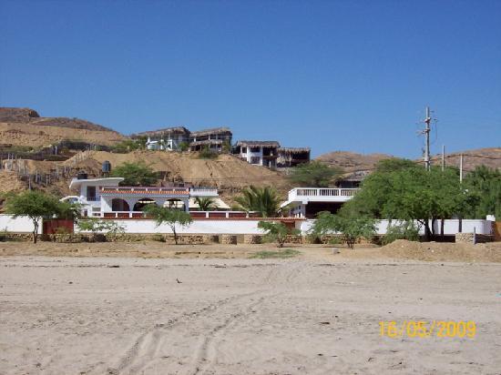 Punta Veleros, Peru: vista de hotel