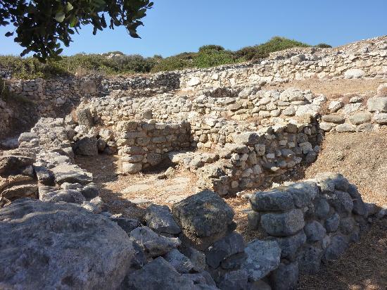 Γουρνιά: Room where wine was pressed