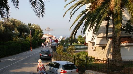 Petrovac, Montenegro: view from the restaurant