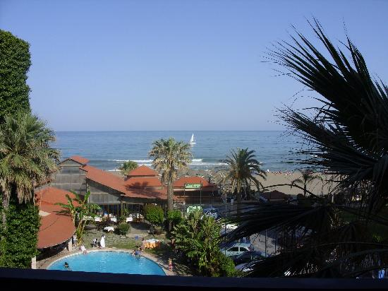 Hotel Tropicana: another one from the balcony