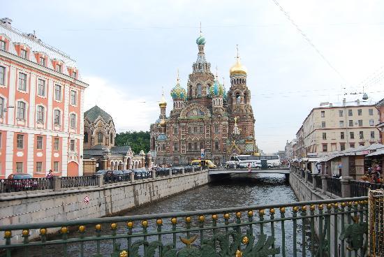 St. Petersburg, Russia: San Petersburgo: Iglesia de la sangre derramada