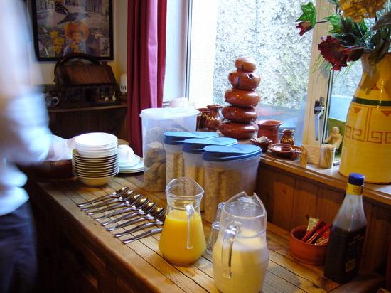 The Forge House B&B: breakfast1
