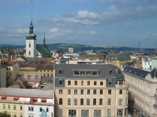 Brno, Tjeckien: View of the city