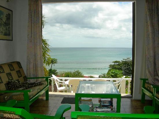 Mare Anglaise, Seychelles: vista dal salotto