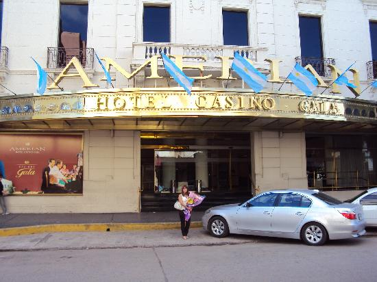 Resistencia, Argentina: 1.- Amerian Hotel Casino: Entrada principal