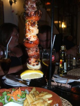 Casa Da Fonte : Awesome kebabs