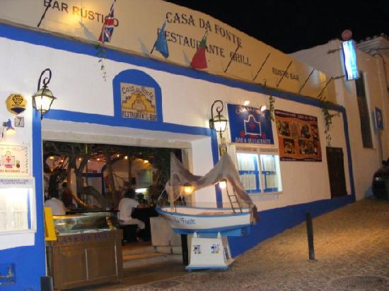 Casa Da Fonte : Exterior of restaurant