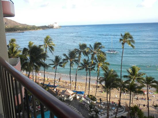 The Royal Hawaiian, a Luxury Collection Resort: View from my lanai!