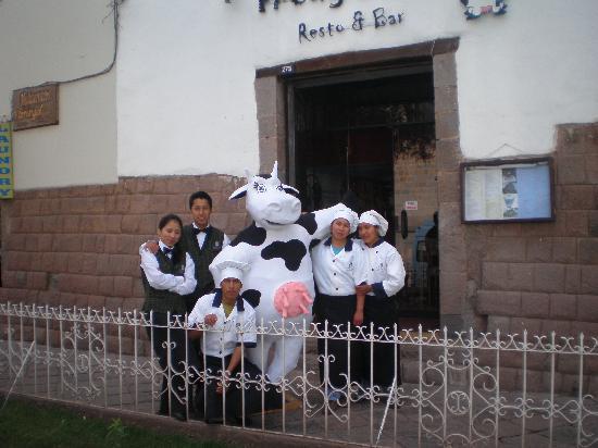 Fredy´s Grill Resto & Cafe : Todos con Hermelinda