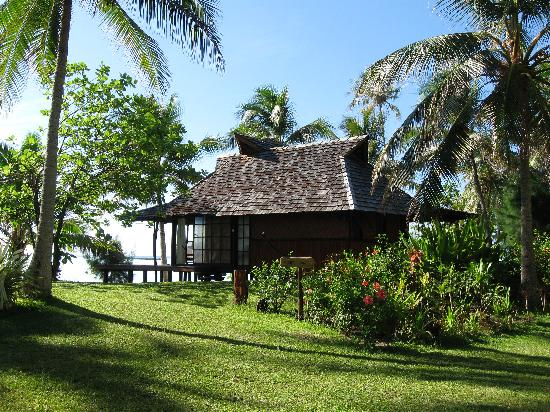 Vahine Island ile privée Resort & Spa : dexluxe beach bungalow