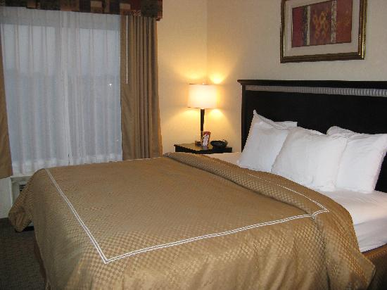 Comfort Suites Kildeer Drive: King Bed