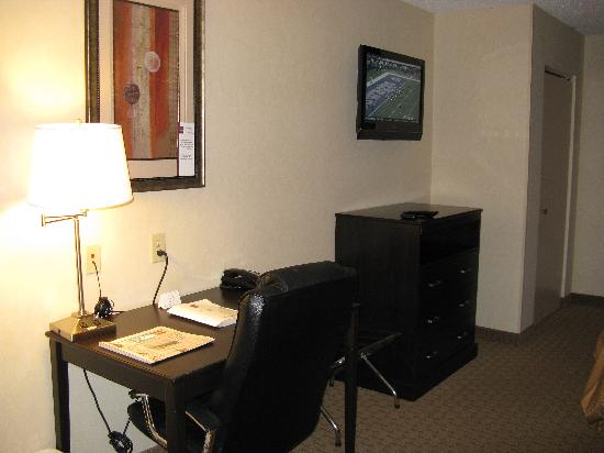Comfort Suites Kildeer Drive: King Room Furnishings