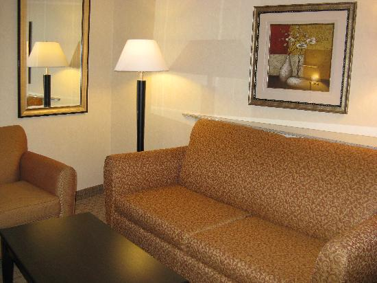 Comfort Suites Indianapolis: King Room Sitting Area