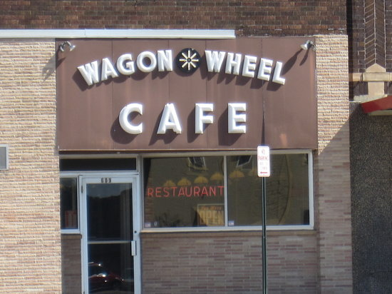 Wagon Wheel Cafe: The Wagon Wheel front