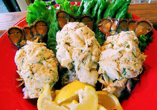 The Original Crabcake Factory: Lump Crab Stuffed Lobster Tails