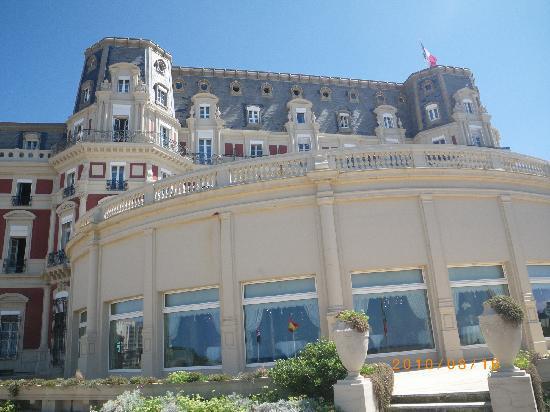 Biarritz Hotel Du Palais  Photo De Htel Du Palais Biarritz