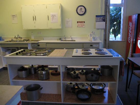 YHA Whanganui Braemar House : Kitchen