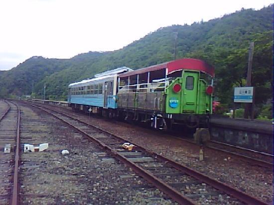 Shimanto River : トロッコ列車