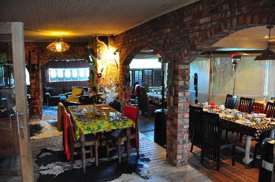بامبو ذا جيست هاوس: Dining/breakfast room